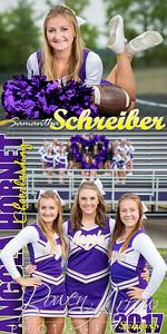 Samantha Schreiber Cheer Banner