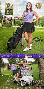 Golf Aliviah Sweeney Banner