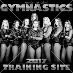 Gymnastics 3 x 3 Banner