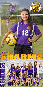 Vidhi Sharma Soccer Banner
