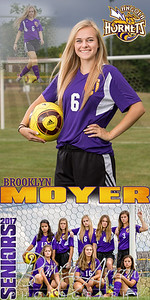Brooklyn Moyer Soccer Banner