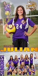 Haleigh Julian Soccer Banner