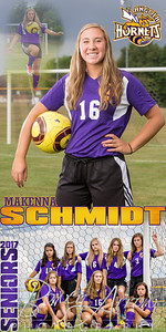 MaKenna Schmidt Soccer Banner