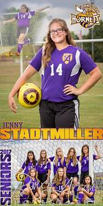 Jenny Stadtmiller Soccer Banner