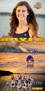Banner Swim Natalie Boyer