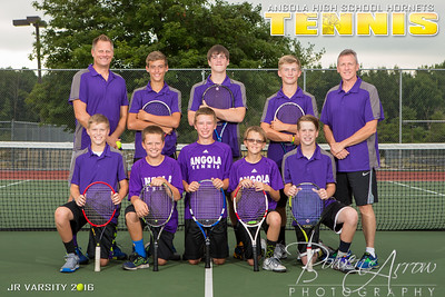 2016 Tennis Poster Back