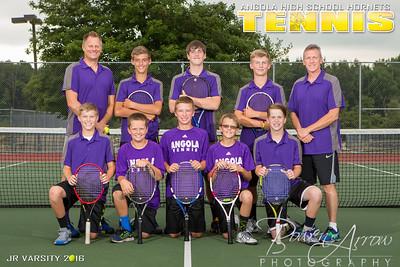 2016 Tennis Poster Back