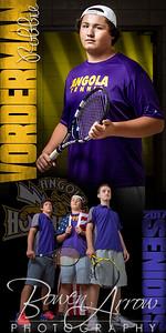Robbie Vorderman Tennis Banner