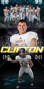 Football Eric Clifton Banner