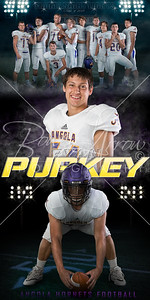 Football Ryan Purkey Banner