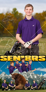 Tyler Crosby Golf Banner