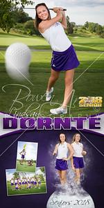 Lindsay Dornte Golf Banner