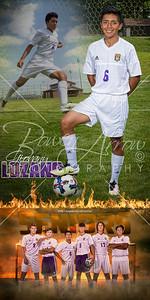 Giovany Lozano Soccer Banner