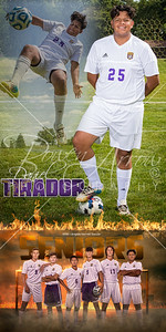 Daniel Tirador Soccer Banner