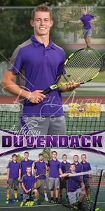 Anthony Duvendack Tennis Banner