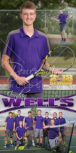 Jordan Wells Tennis Banner