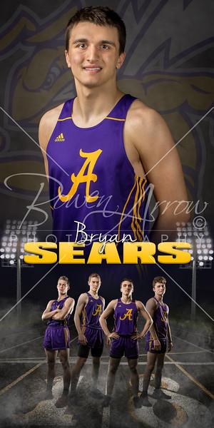 Bryan  Sears Track Banner