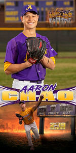 Aaron Chao Baseball Banner