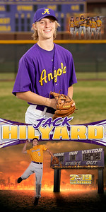 Jack Hilyard Baseball Banner