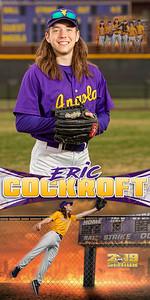 Eric Cockroft Baseball Banner