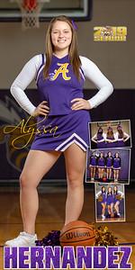 Cheer Alyssa Hernandez Banner