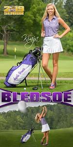 Kiaja Bledsoe Golf Banner