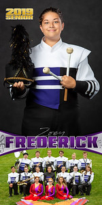 Band Zoey Frederick Banner