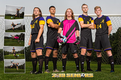 AHS Boys Soccer Poster Rear