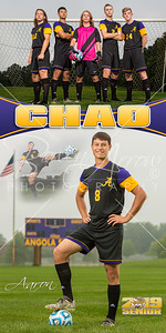 Aaron Chao Soccer Banner