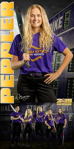 Reace Peppler Softball Banner
