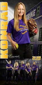 Emma Konrad Softball Banner