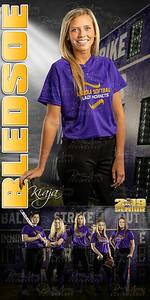Kiaja Bledsoe Softball Banner