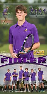Brenden Fidler Tennis Banner