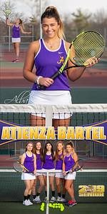Alba Atienza Bartel Tennis Banner