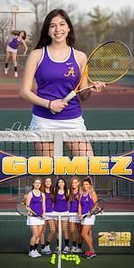 Lizzie Gomez Tennis Banner