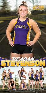 Reagan Stevenson Track Banner