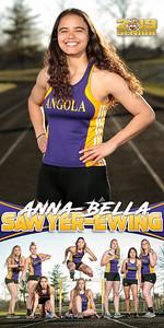 Anna-Bella Sawyer-Ewing Track Banner