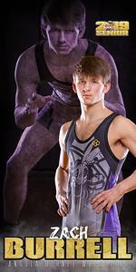 Wrestling Zach Burrell Banner