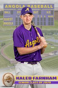Kaleb Farnham Baseball Card 2020
