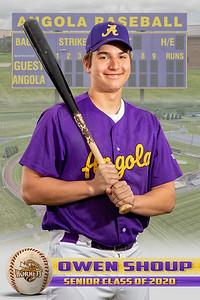 Owen Shoup Baseball Card 2020