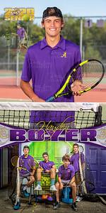 Tennis Hayden Boyer Banner