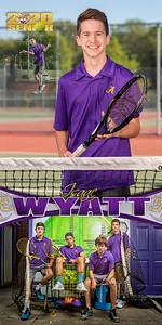 Tennis Isaac Wyatt Banner