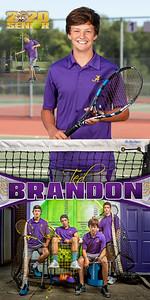 Tennis Ted Brandon Banner