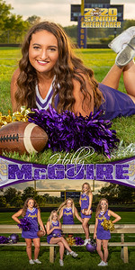 Cheer Holly McGuire Banner