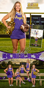 Cheer Gabby Kelly Banner