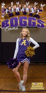 Cheerleading Banner Emma Boggs