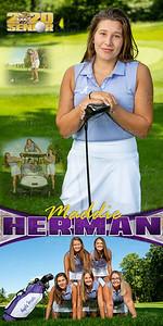 Golf Maddie Herman Banner