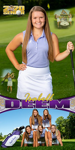 Golf Isabell Deem Banner