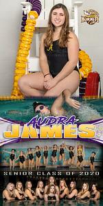 Swim Banner Audra James