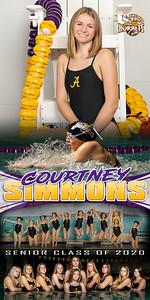 Swim Banner Courtney Simmons